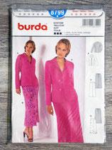 Pochette patron Burda n°8799 - Tailleur-jupe