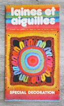 Magazine Laines et aiguilles n°180 bis - Spécial décoration