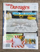 Magazine Diana Ouvrages 30H - Filet au crochet