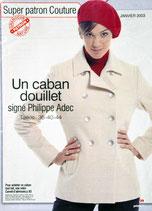 Patron de couture Prima 244 - Caban femme