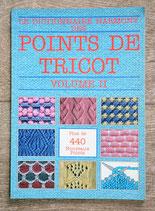 Livre Dictionnaire Harmony des points de tricot 2