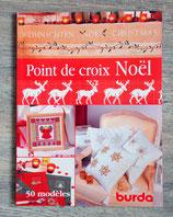 Livre Point de croix Noël