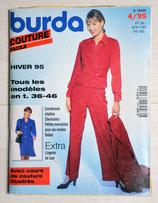 Magazine Burda Couture facile 4/1995 - Hiver 95
