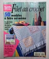 Magazine Burda spécial E472 - Filet au crochet