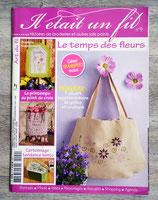 Magazine Il était un fil n°9 - Le temps des fleurs