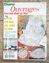 Magazine Diana Ouvrages 81H - Crochet d'art et filet