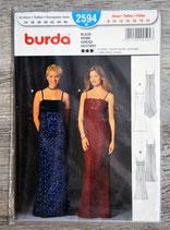 Pochette patron Burda n°2594 - Robe de soirée
