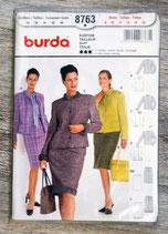 Pochette patron Burda n°8763 - Veste + jupe