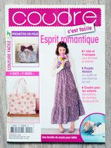 Magazine coudre c'est facile n°12 - Esprit romantique
