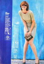 Patron de couture Modes & Travaux septembre 99 - Robe
