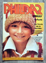 Magazine Phildar mailles enfants n°54 (Vintage)
