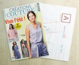 Magazine Créations couture 13 - 17 créations estivales