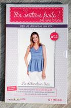 Patron Ma couture facile ! n°11 - Le débardeur Anna