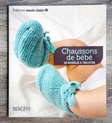 NEUF - Livre Chaussons de bébé - 50 modèles à tricoter
