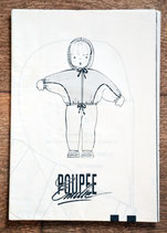 Patron de couture Modes & Travaux - Ensemble de ski poupée Emilie