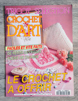 Magazine Tricot Sélection crochet d'art n°168