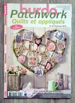 Magazine Burda patchwork et appliqués n°25 - Printemps