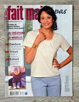 Magazine Fait main pas à pas de mars 2009