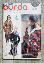 Pochette patron Burda n°45888 - Manteau (Vintage)