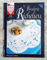 Livre La broderie Richelieu - 25 modèles originaux