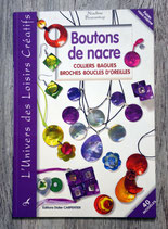 NEUF - Livre Boutons de nacre (fabrication de bijoux)