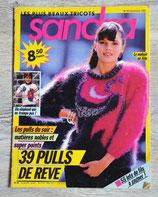 Magazine tricot Sandra n°53 - Décembre 1988