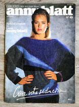 Magazine tricot Anny Blatt n°49 - Spécial couture