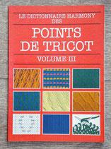 Livre Dictionnaire Harmony des points de tricot 3