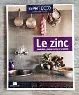 NEUF - Livre Le zinc, idées déco pour la maison et le jardin
