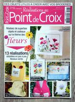 Magazine Réalisations au point de croix - Fleurs