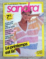 Magazine tricot Sandra n°20 - Printemps