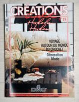Magazine Créations crochet 15 - Voyage autour du monde du crochet