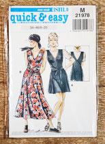 Patron couture Neue Mode M21978 - Robe