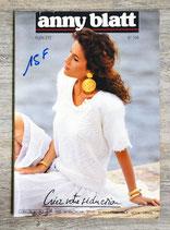 Magazine tricot Anny Blatt n°108 - Plein été