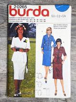 Pochette patron Burda n°20265 - Tailleur jupe