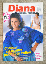 Magazine tricot Diana Idées Plaisirs du tricot 38