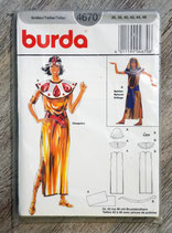 Pochette patron Burda n°4670 - Déguisement Cléopatre et Sphynx