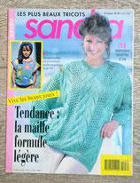 Magazine tricot Sandra 107 - Juin 1993
