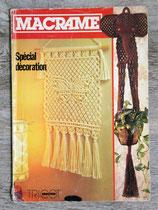 Magazine Tricot Sélection HS sur le macramé spécial déco