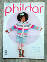 Magazine Phildar 87 - Printemps-été enfants