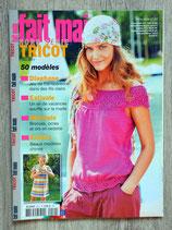 Magazine Fait main Tricot Hors série 24 - Eté 2011