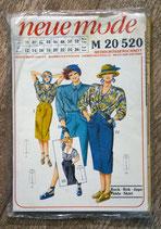 Pochette patron couture Neue Mode M20520 - Jupe
