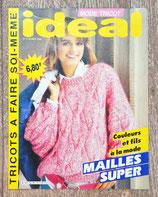 Magazine Idéal tricot 2 - Février 1986