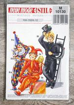 Pochette patron Neue J 10130 - 3 déguisements enfants