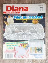 Magazine Diana spécial mailles 16H - Filet au crochet