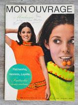 Magazine Mon ouvrage Madame n°227 - Août 1967 (Vintage)