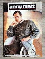 Magazine tricot Anny Blatt n°92 - Spécial hommes