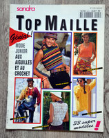 Magazine tricot Sandra - Top maille n°3/94