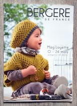 Magazine Bergère de France n°165 - Mag'layette 0-24 mois