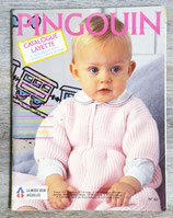 Magazine tricot Pingouin n°60 - Layette (Vintage)